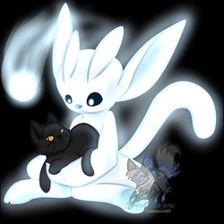 Ori want play with cats by SerahMajere
