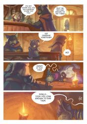 Nadar Knights - a cat story. Page 3 by Les-Chats-Nocturnes