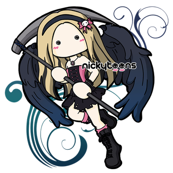 Commission: Avril Lavigne Wings by NickyToons