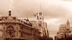 Madrid Skyline by Danaeryn