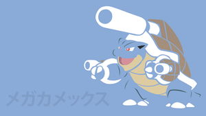 Mega Blastoise by DannyMyBrother