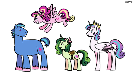 shiningcadence children of the crystal empire by hateful-minds