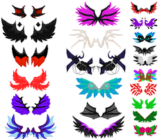 Wing Sheet(updated) by FireSnakeGaming13