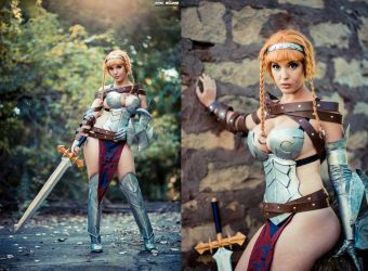 Leina-- Queen's Blade Cosplay by Lisa-Lou-Who