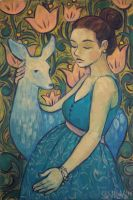 Maternity by AnnWeaver