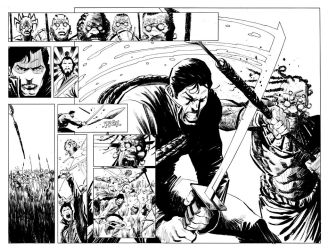 Five Ghosts #1- Pages 28-29 by Mooneyham