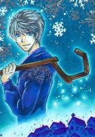 Jack Frost for Tia - Mulle's friends' calendar by m-u-ll-e