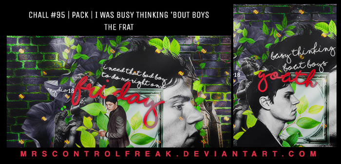 I WAS BUSY THINKING 'BOUT BOYS by mrsControlFreak