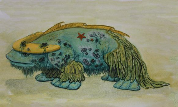 Sea Ox by Silverpaperplate