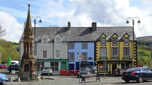 Ballycastle market place by UdoChristmann