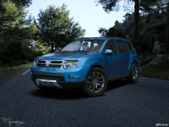 Dacia Duster Tuning 7 by cipriany