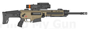 ACSR-98R Sniper Rifle by ThantosEdge