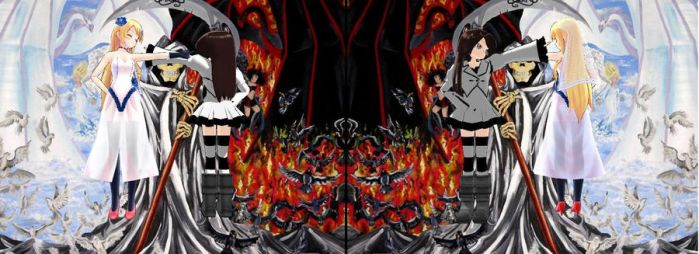 Heaven VS Hell by AxyllXIII