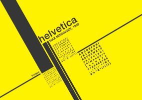 helvetica poster by chadong