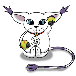 Lucky Gatomon by KeganSlayer