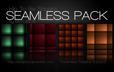 Seamless - Hip To Be Square by Benji3O3