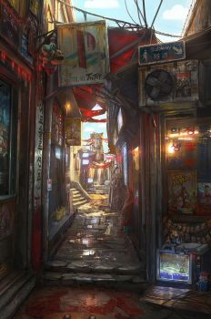 Memory Lane by JonasDeRo