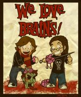 We Love Brains by cool-slayer