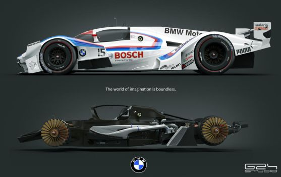 BMW MR1  Michelin 2030 challenge by KarayaOne