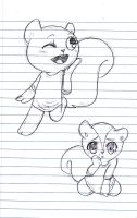 Squirrelly Me by HTFJessie