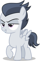 Rumble with smirk (Vector) by Chrzanek97