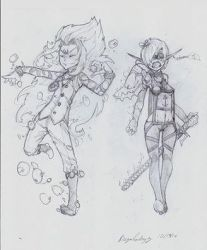 OC - Hydeo (Left) Atma (Right) by snoop19922002