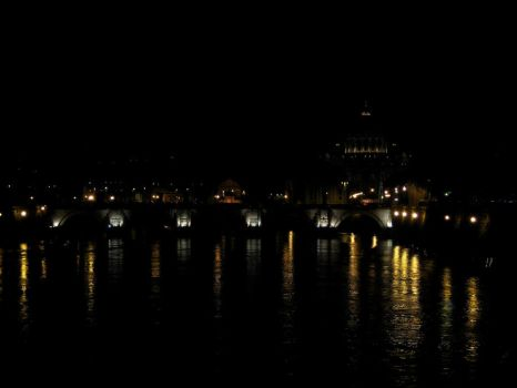 San Pietro by night by woAaAow