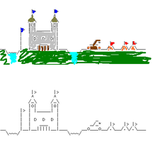 ASCII Castle by Torrential-E