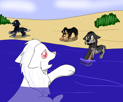 RoM Water Rescue For shangry NineyNintales by tubachic