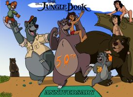 Jungle Book 50th anniversary. by b1k