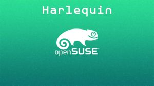 openSUSE 13.2 Harlequin Wallpaper [id_02] by ZeroxProject