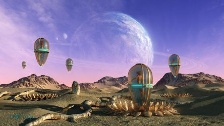 The Cocoons of the Seventh Moon by ArthurBlue