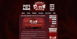 MTAC Devil's Dozen Website by miluette