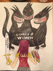 Conquering the Three-Headed Monster by IronBatMaiden91