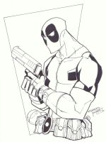 sketchy : Deadpool part deux by KidNotorious