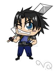 ChIbi Zack by QueenLionz