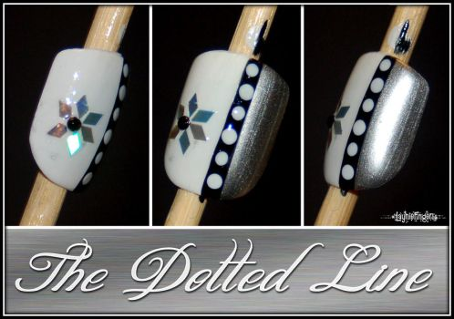 The Dotted Line by mslaynie
