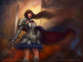 Knight of The House of Leon by gtneoart