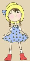 Mary's Little Dress by Amyln