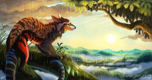Tropical Sunshower by kalambo