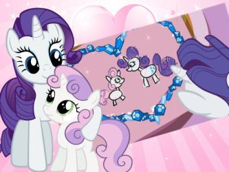 Gif: My Sister SweetieBelle by Chipettes33