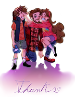 Thanks for everthing, Alex Hirsch by Flasho-D