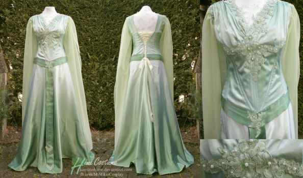 Elven Ball Gown by kaminohime