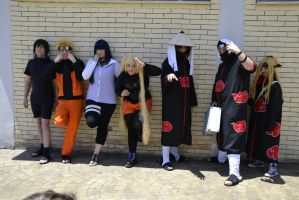Naruto Group: Konoha and Akatsuki by HinaNekosama
