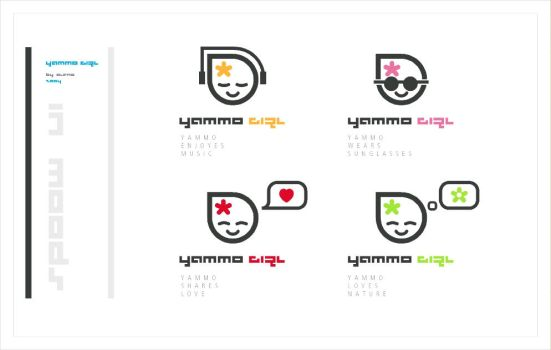 yammo girl in moods by alenq