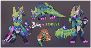 [Louxes] - Forest Guardian [OPEN] AB ADDED by Nokkelborth