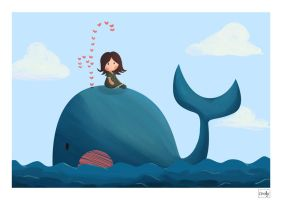 Whale trip by Orelly