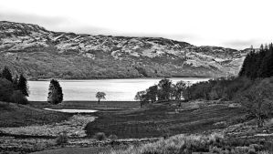 Black and White Landscape ( new edit ) by UdoChristmann