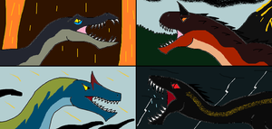 Predators of the Fallen Kingdom by Syfyman2XXX