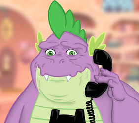THEN WHO WAS PHONE, SPIKE??? by Jiminy-Lummox